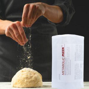 Preparazione pizza metabolic